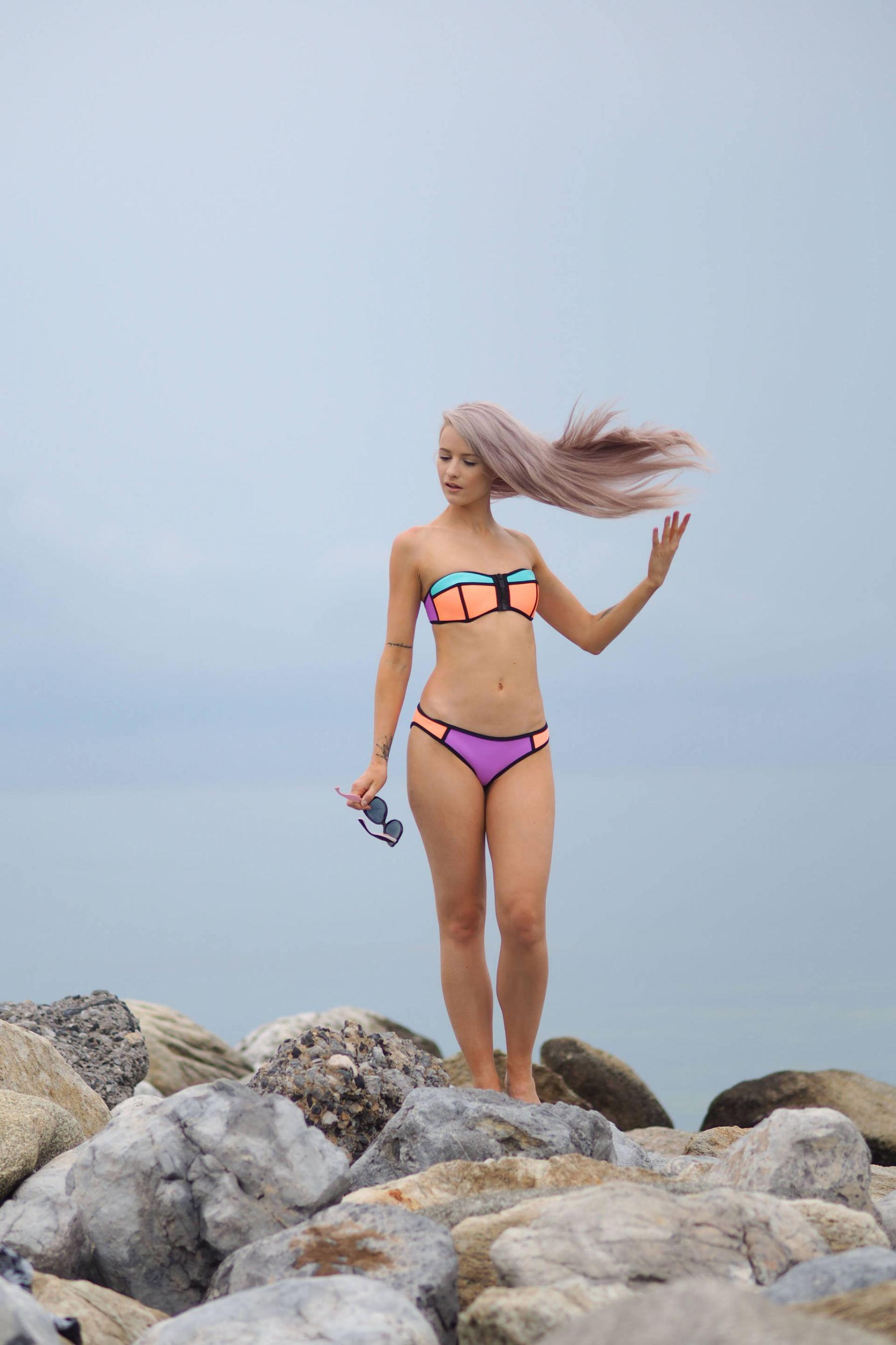 triangl bikini in greece