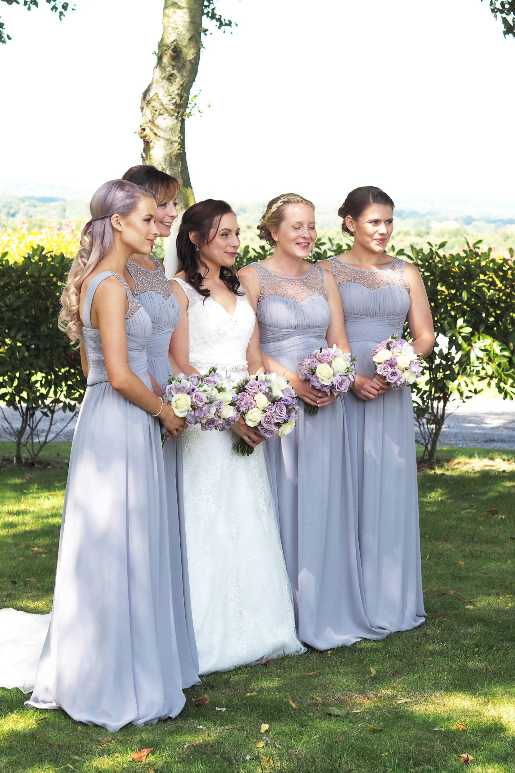 lilac Wedding outfits