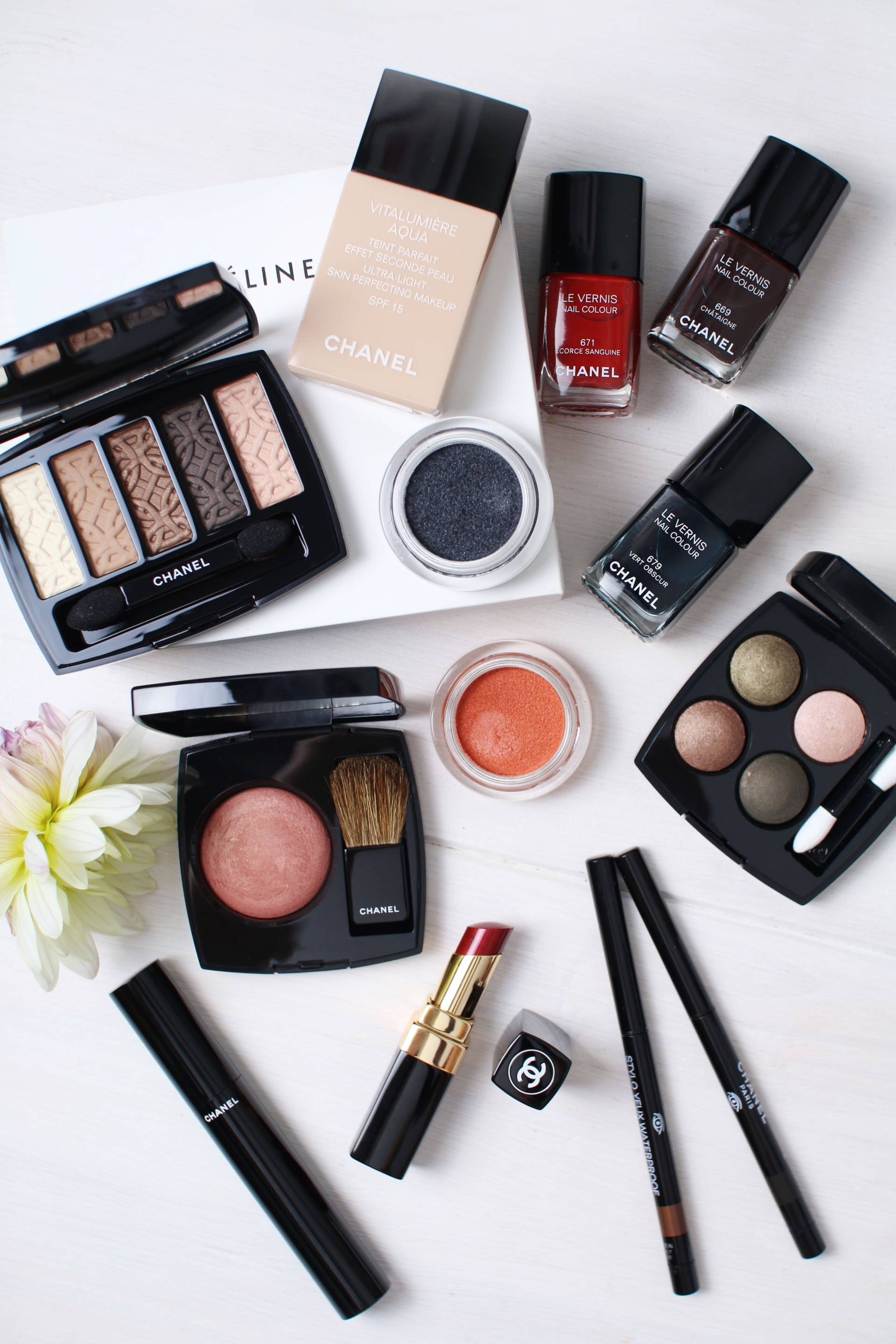 chanel makeup on sale