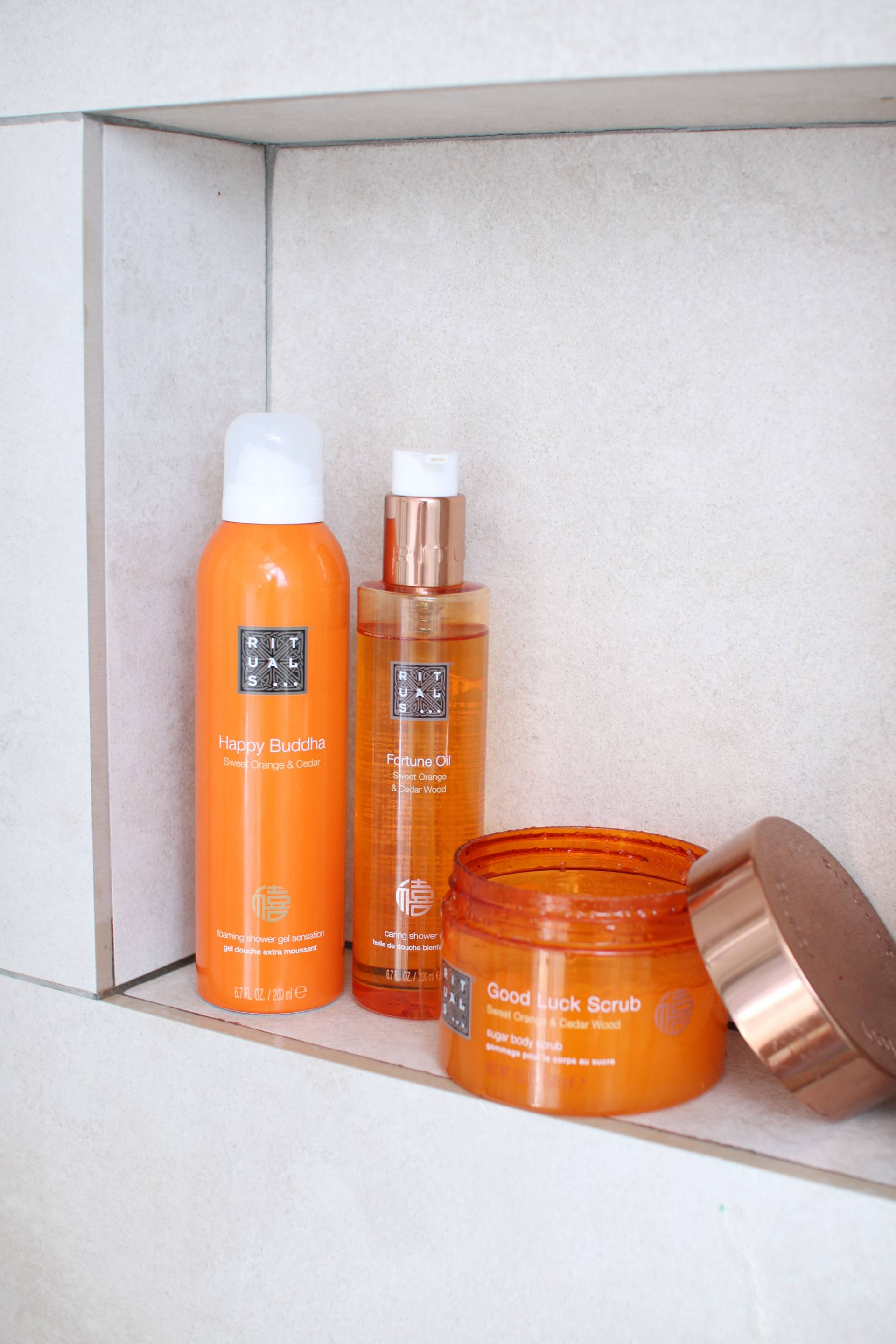 rituals pampering and relaxing
