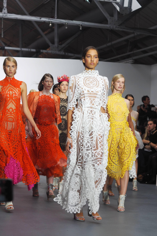 Bora Aksu S/S16 London Fashion Week