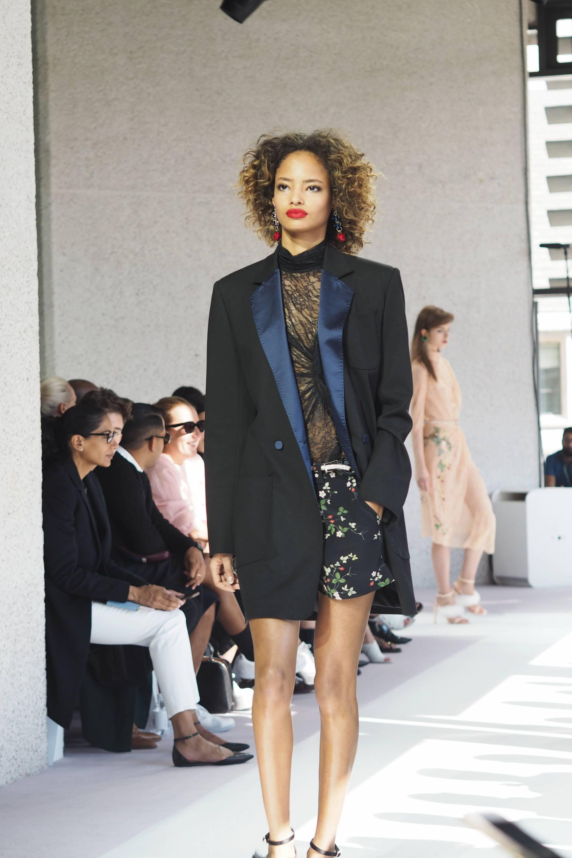 Topshop Unique London Fashion Week S/S16 Inthefrow.com