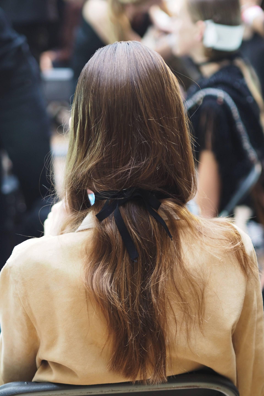 Mary Katranzou Backstage Hair Inthefrow