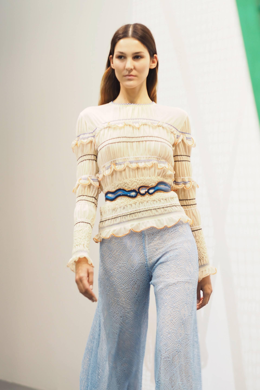 Peter Pilotto London Fashion Week Summer 2016 Inthefrow.com