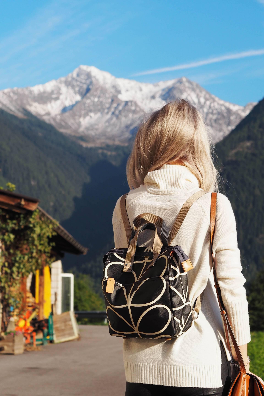 orla kiely backpack