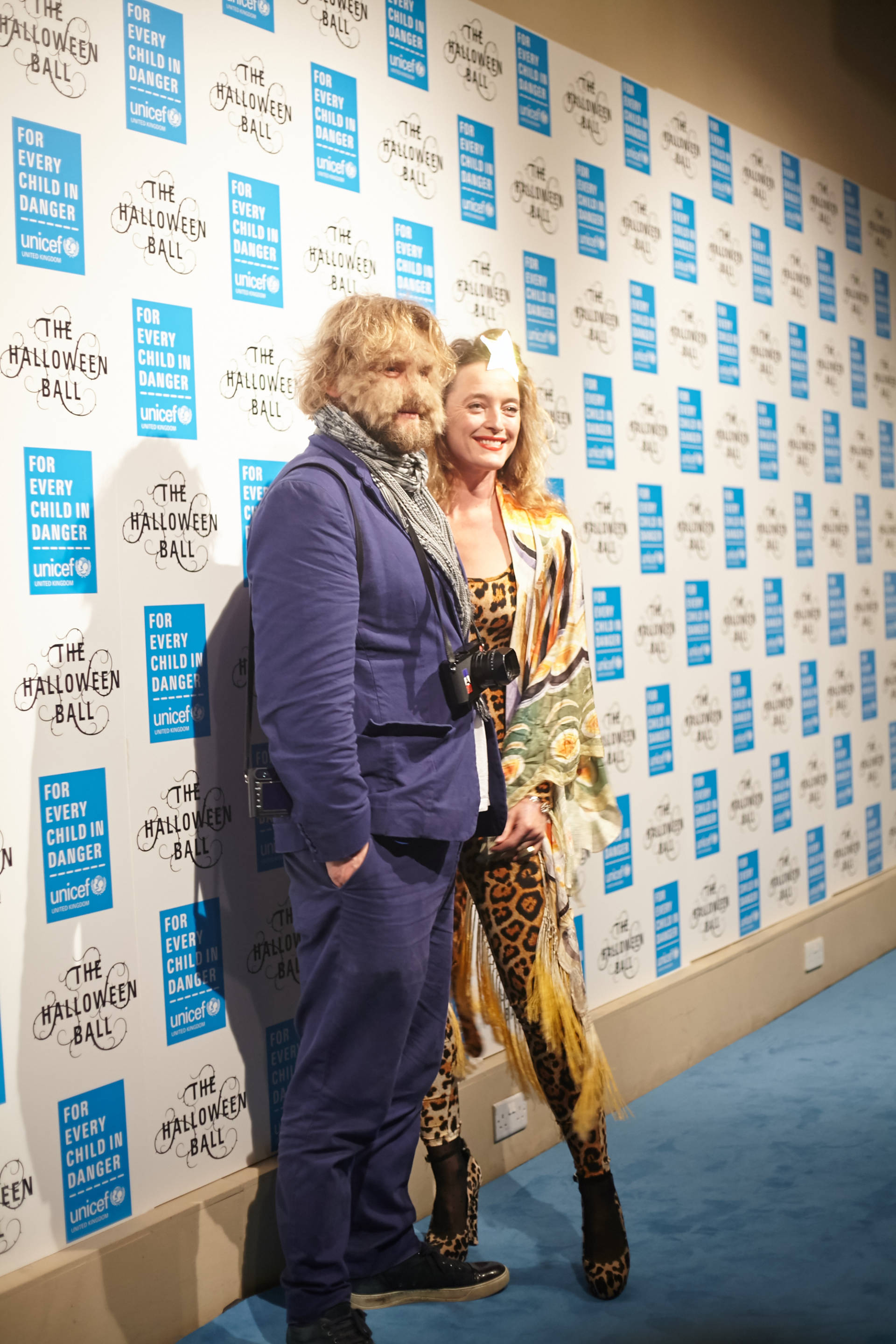 alice temperley at the unicef halloween ball