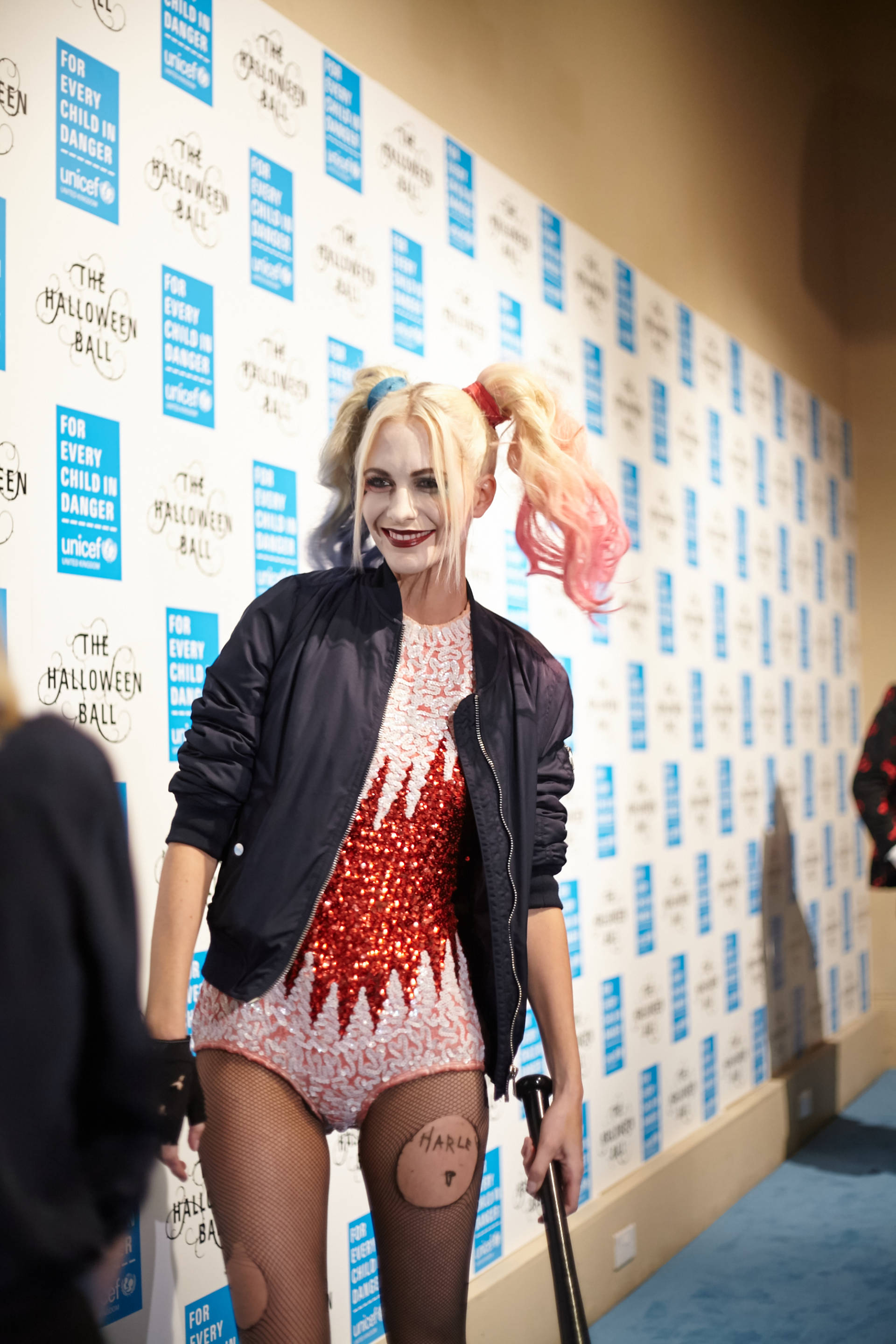 poppy delevigne at the unicef halloween ball