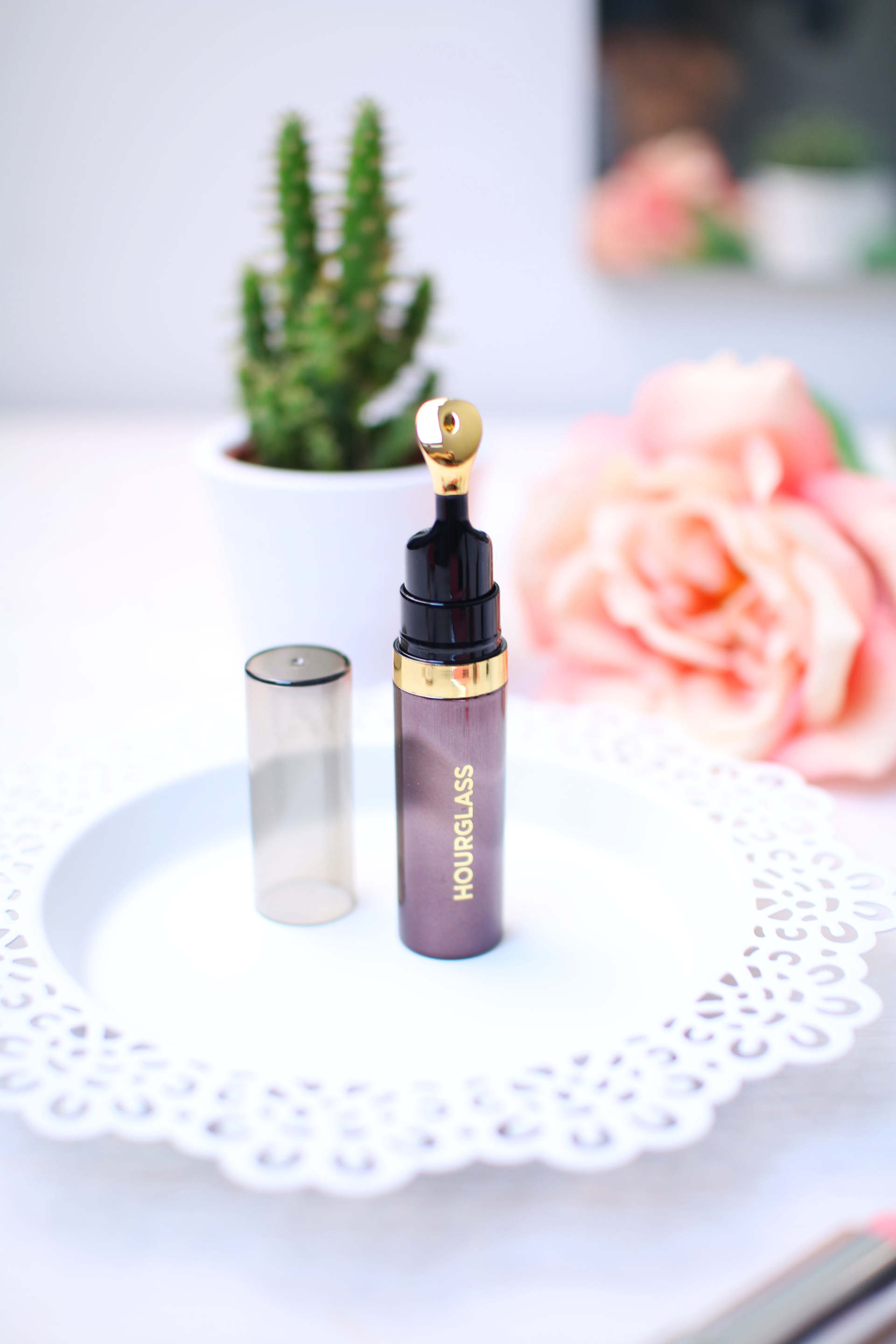 hourglass oil lip balm comparison inthefrow