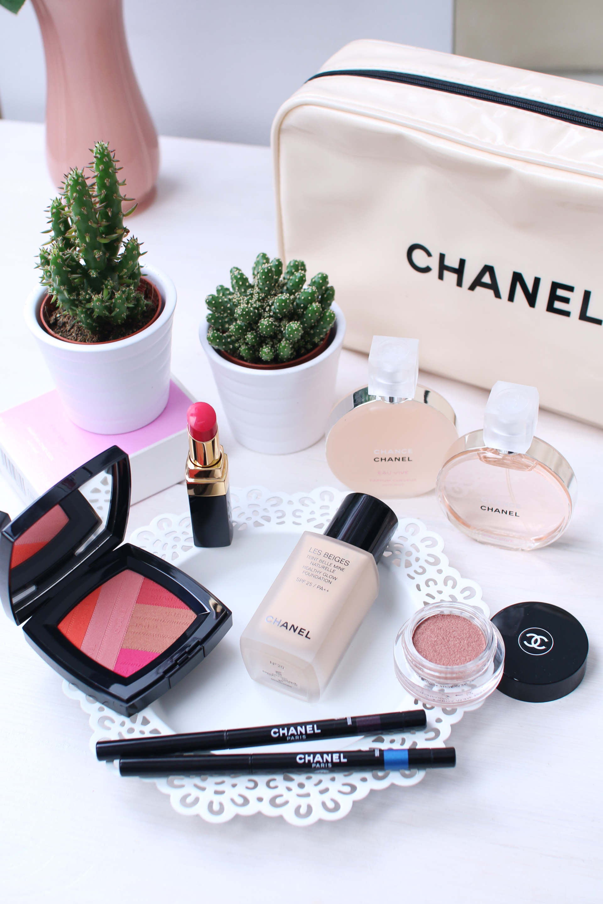 Chanel Les Beiges and spring collection