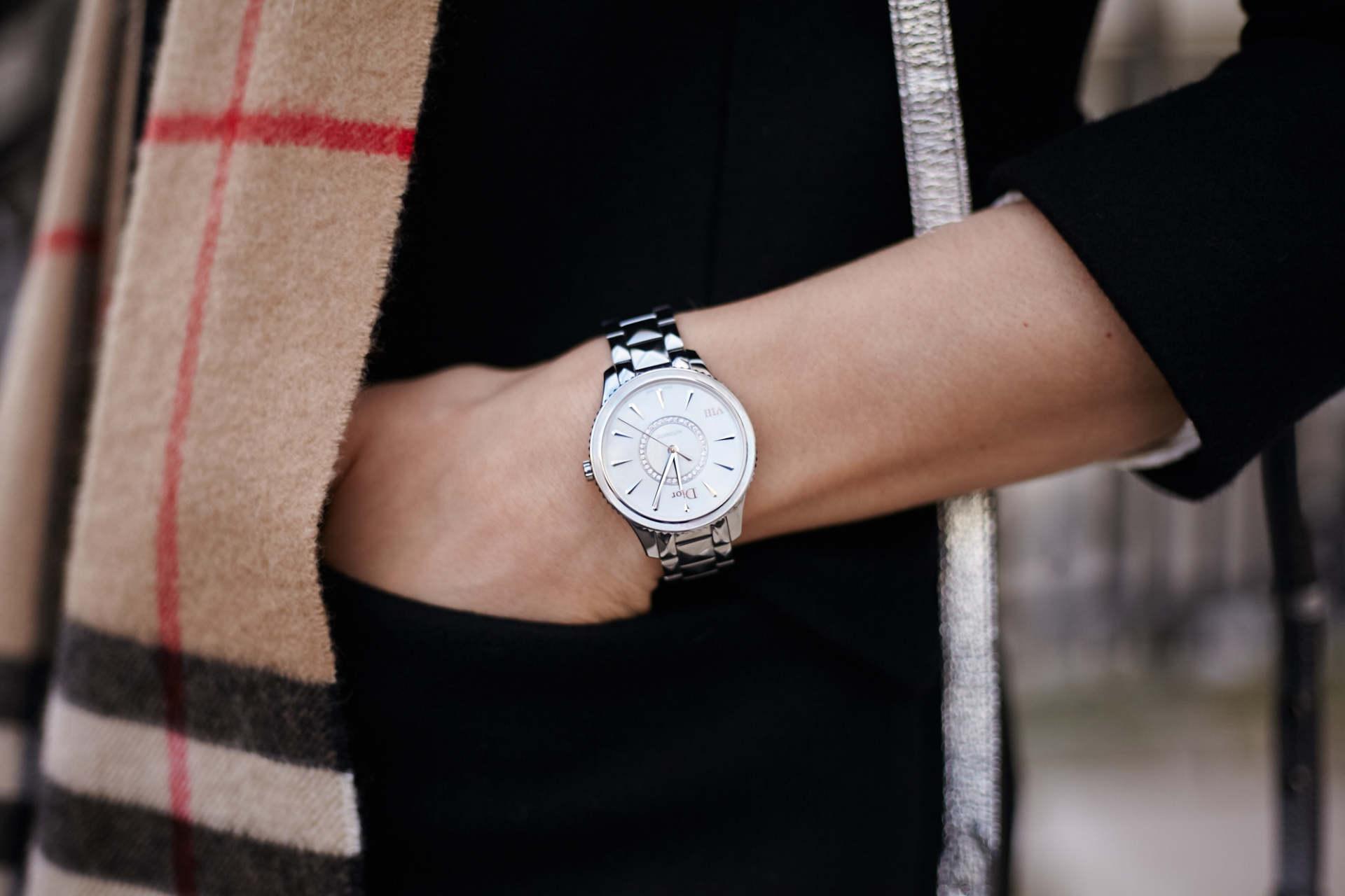 dior montaigne automatic watch