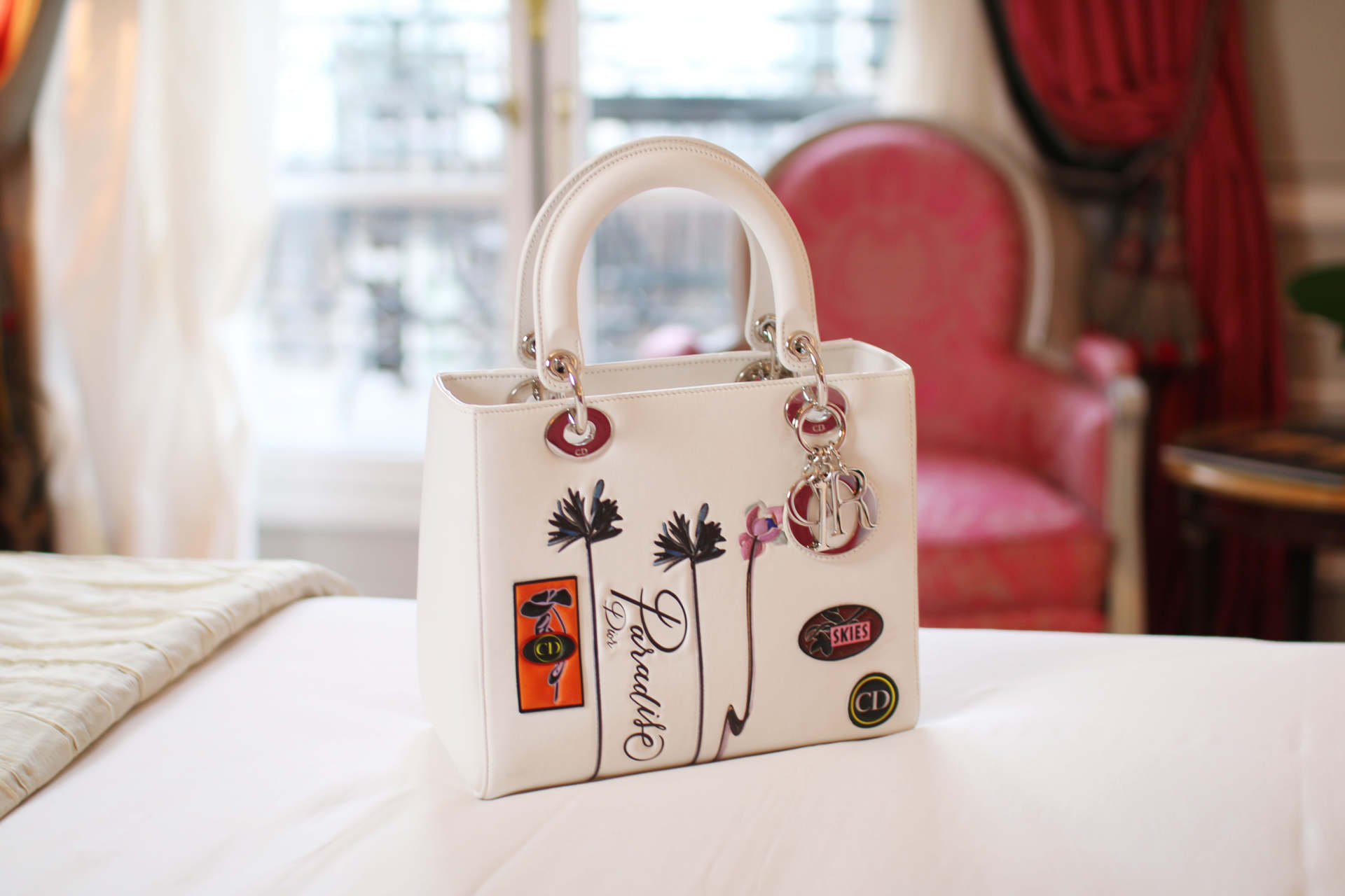Dior cruise collection bag, poison girl fragrance and poison girl party in paris, Inthefrow