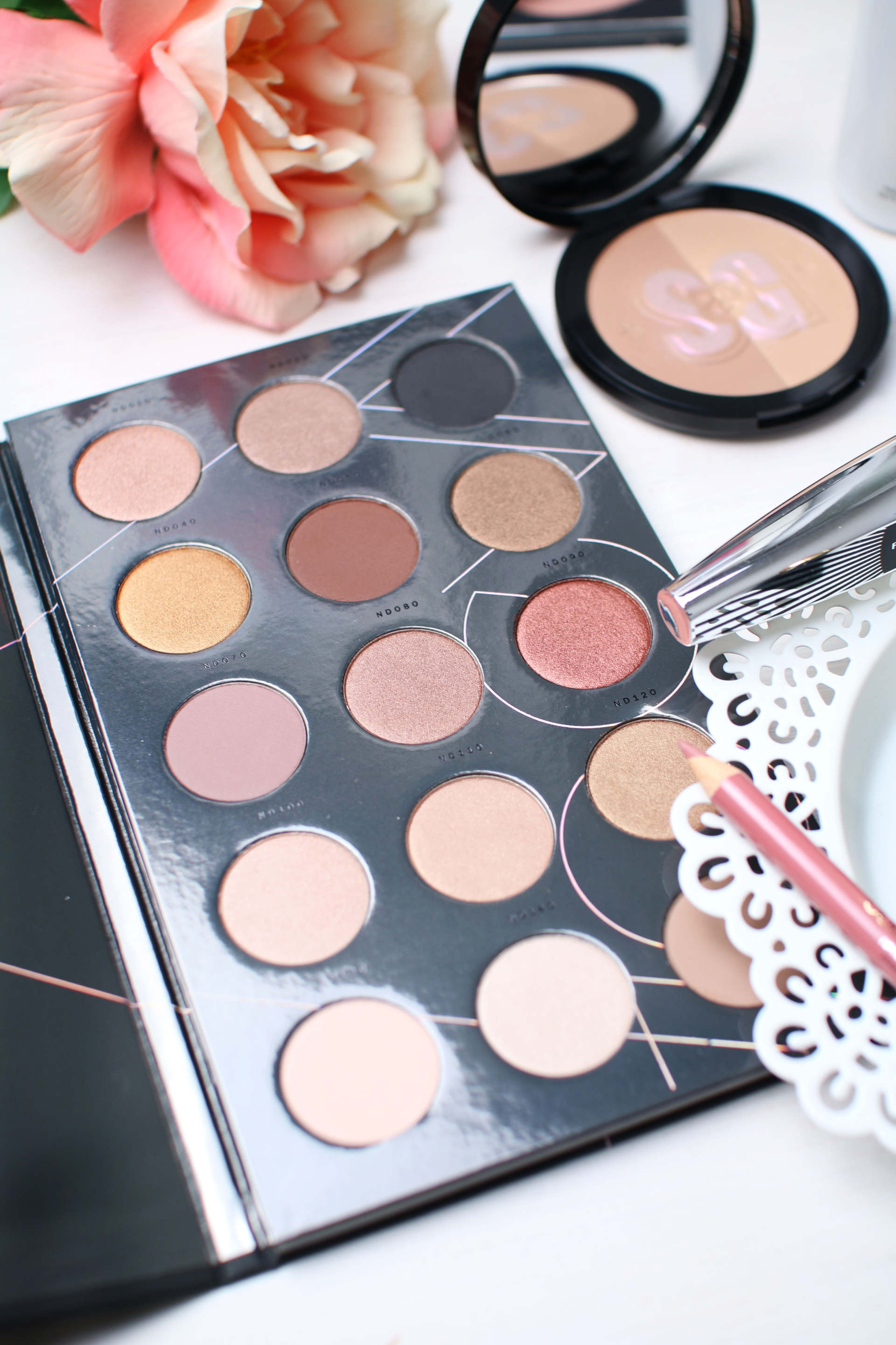 drugstore everyday makeup zoeva palette