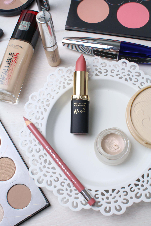 drugstore everyday makeup loreal, zoeva, soap and glory