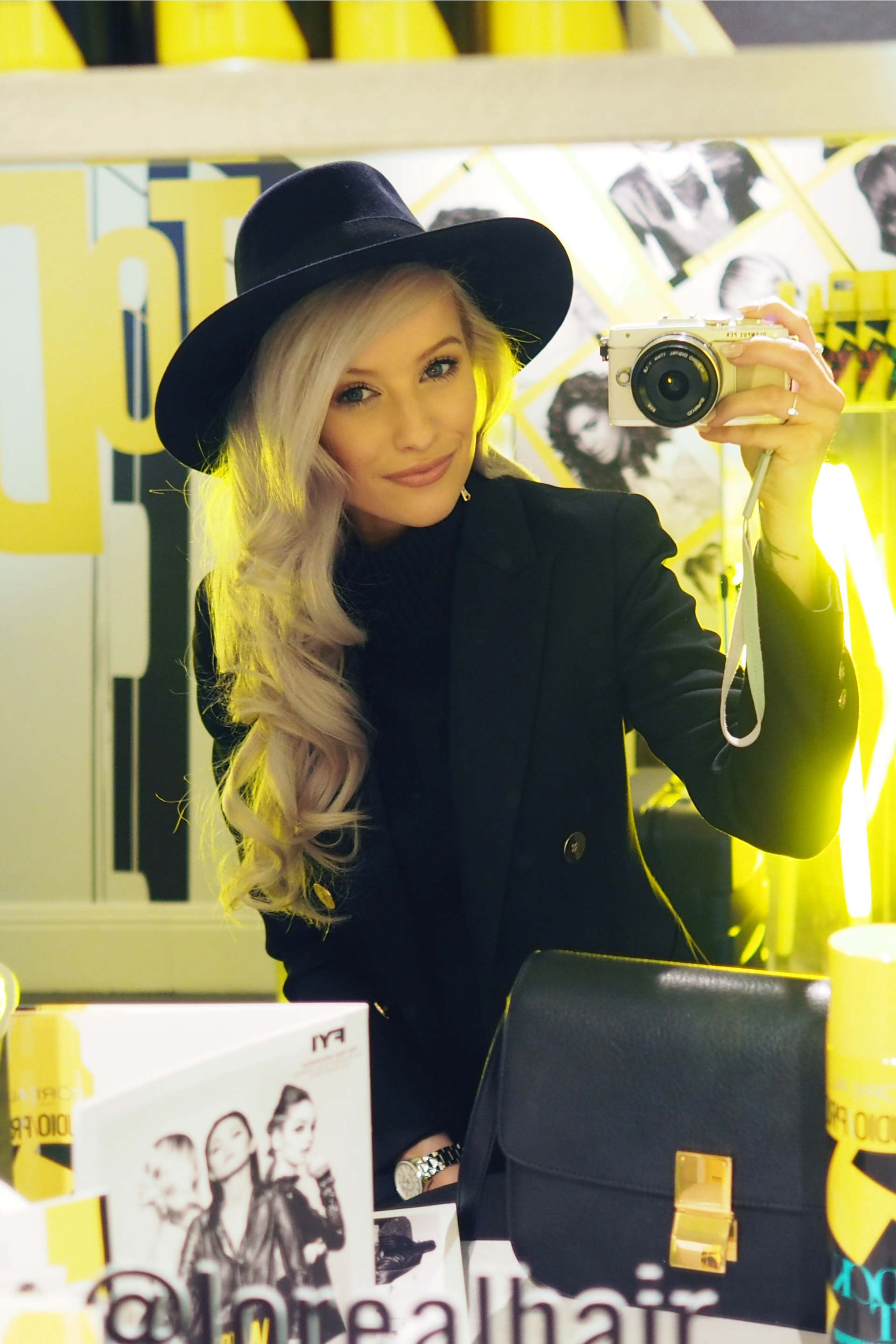 loreal paris studio pro pop up inthefrow