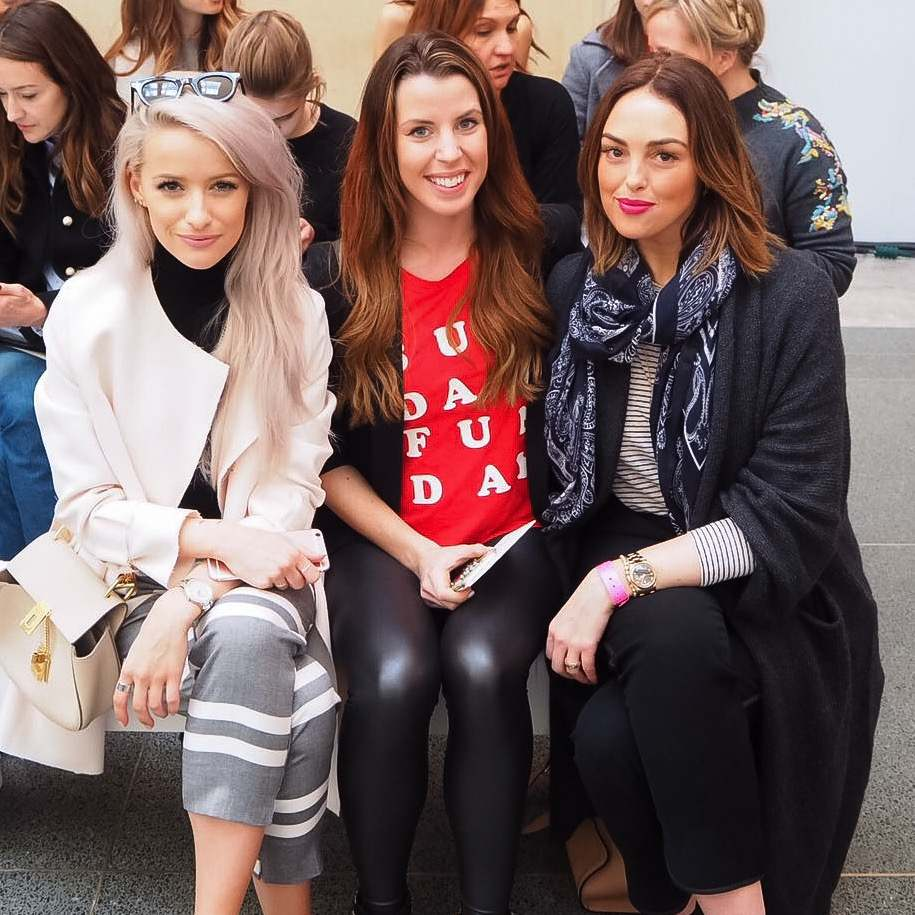 topshop unique lfw a/w16 frow with inthefrow, Alex Steinherr, carly Rowena
