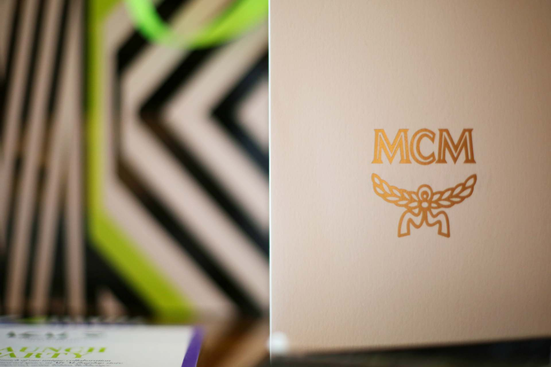 inthefrow in hong kong with mcm x tobias rehberger