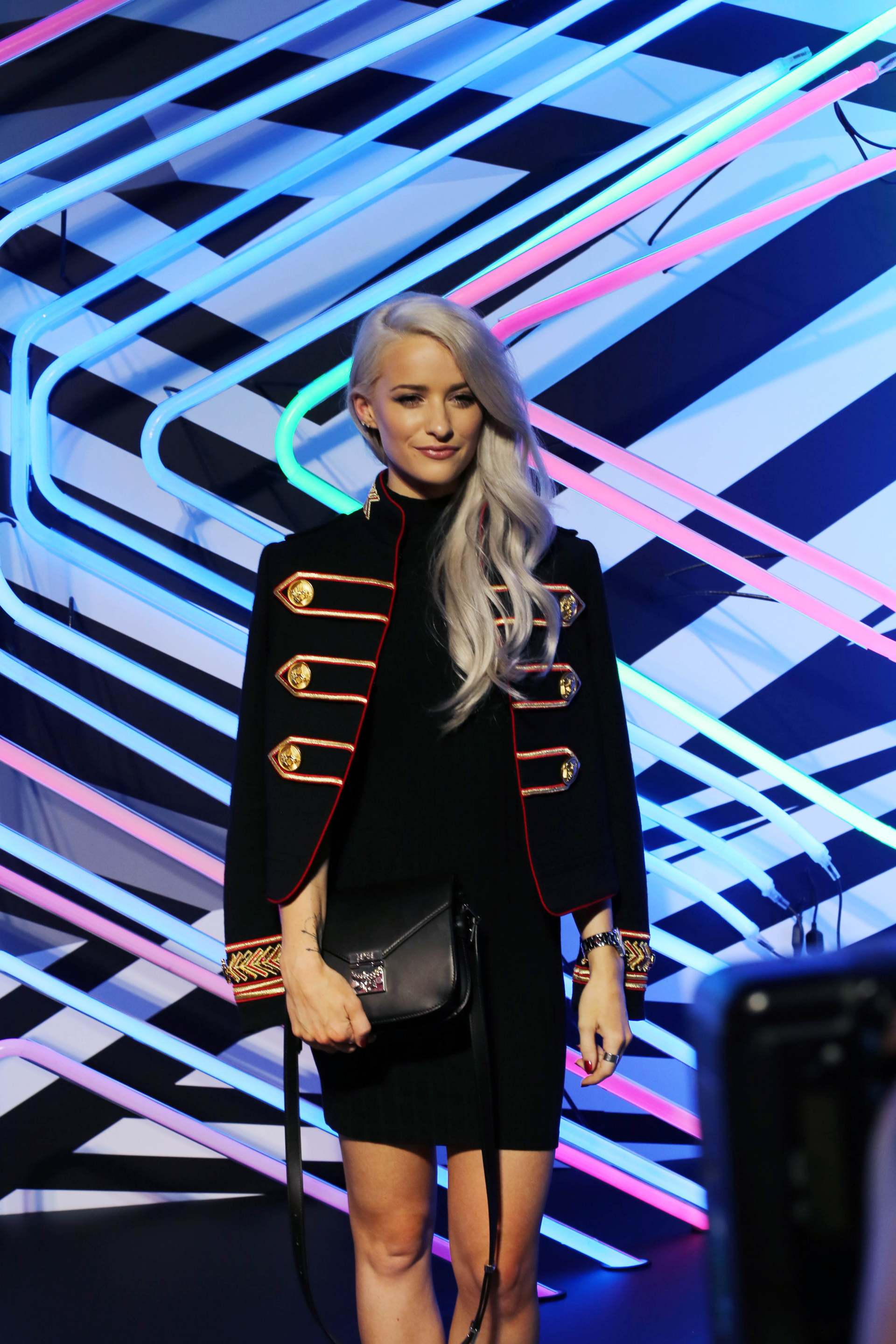 mcm x tobias rehberger event in Hong Kong inthefrow victoria magrath