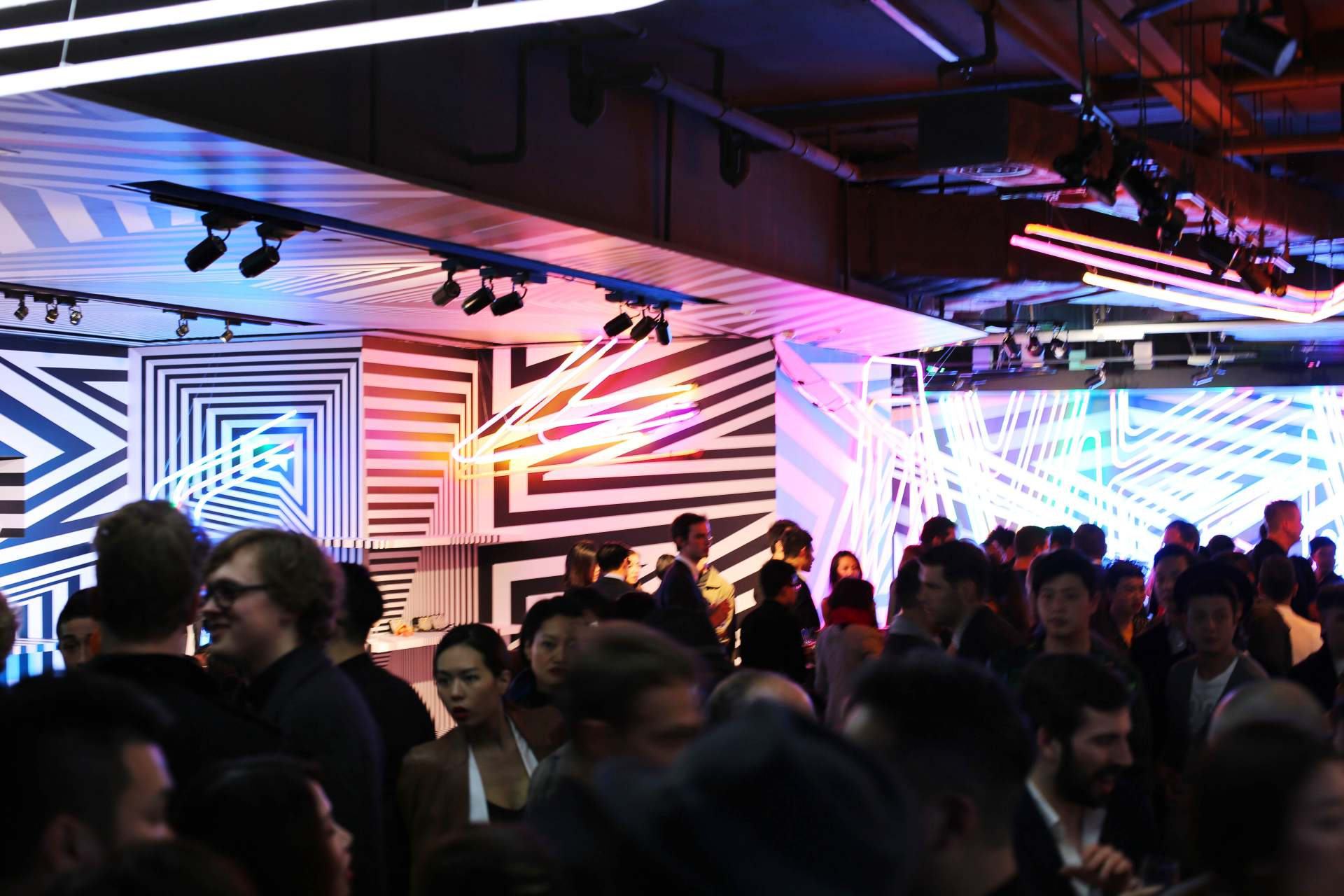 mcm x tobias rehberger event in Hong Kong inthefrow