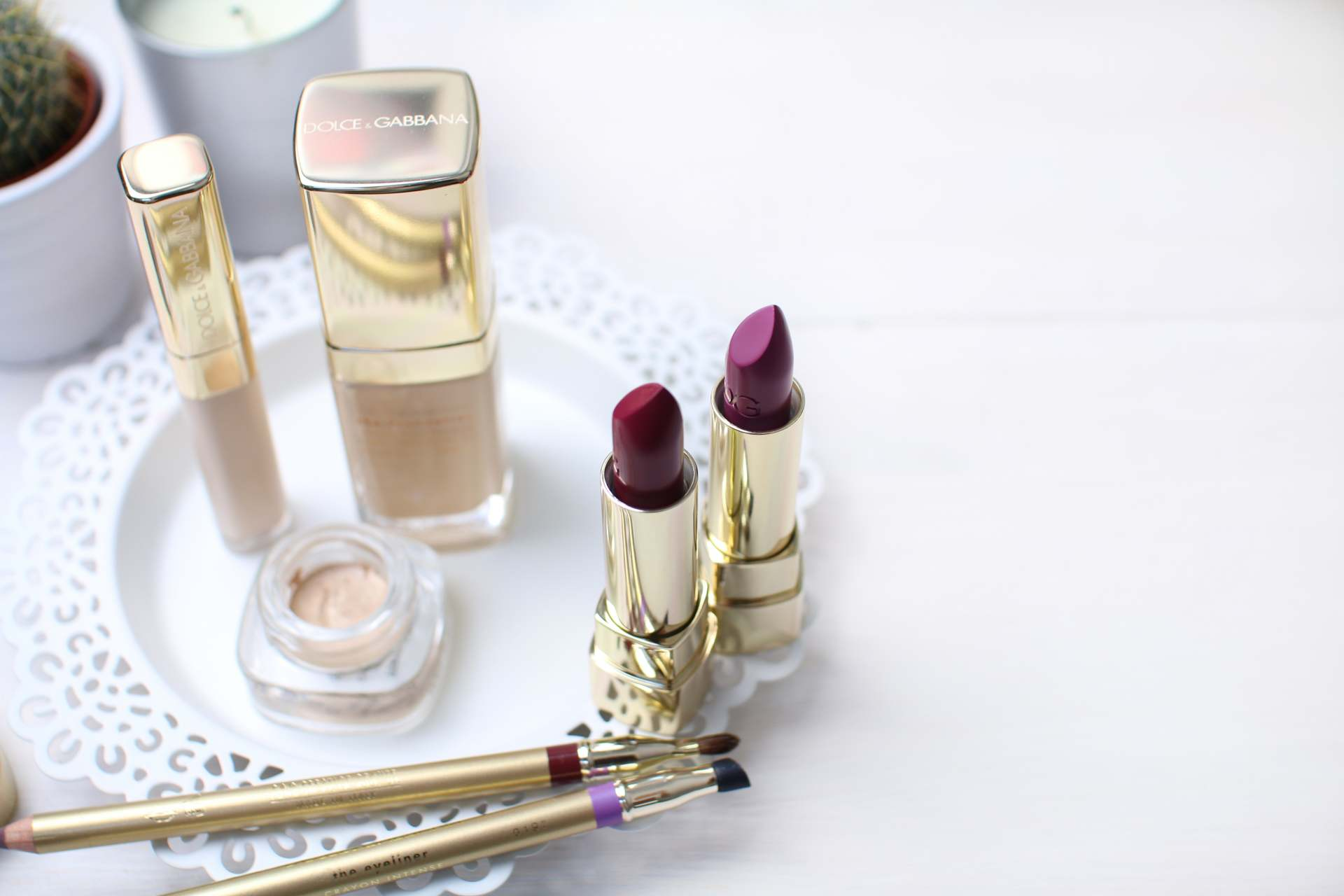 dolce and gabanna beauty inthefrow