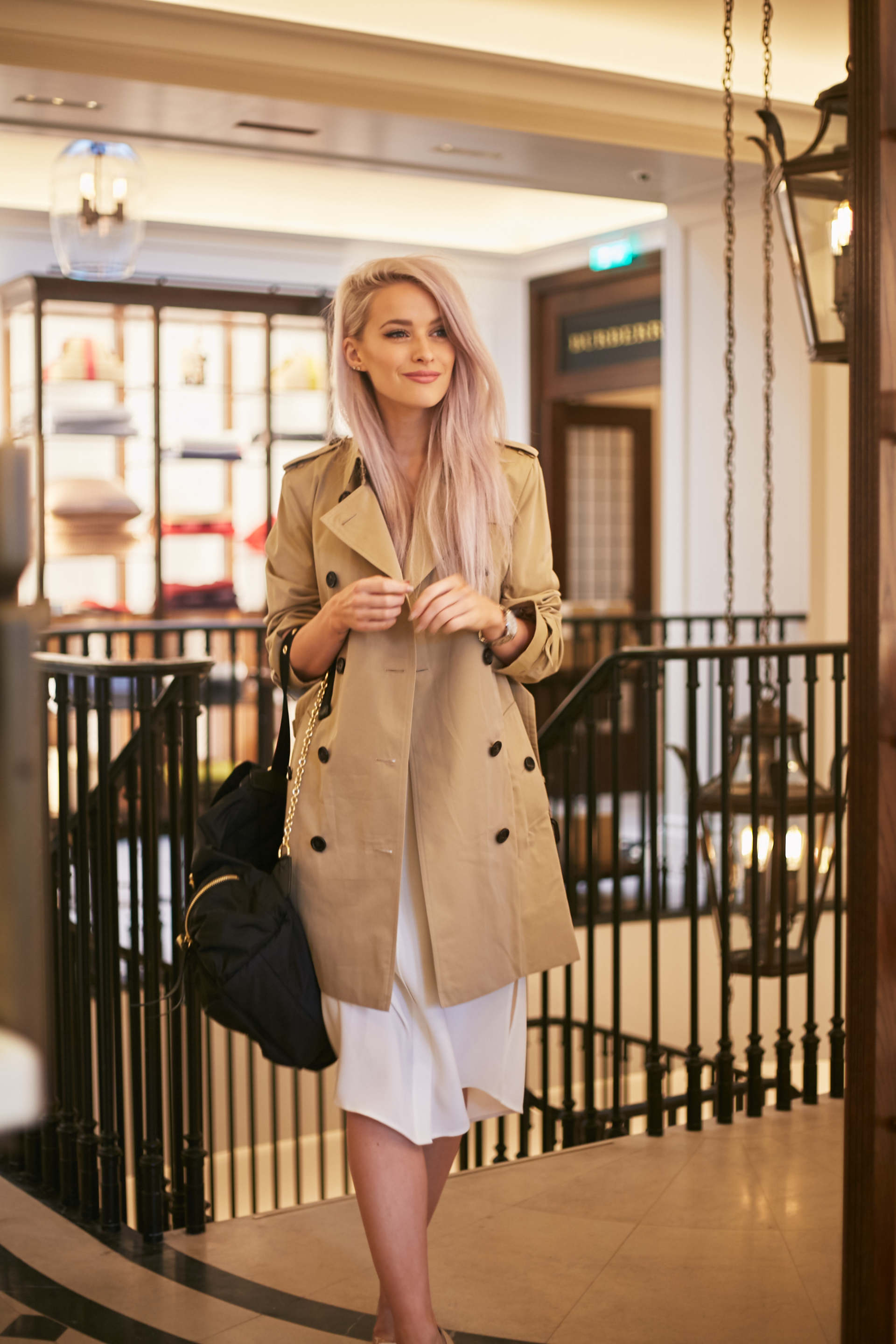 Burberry Thomas S Cafe For A Special Mothers Day Inthefrow
