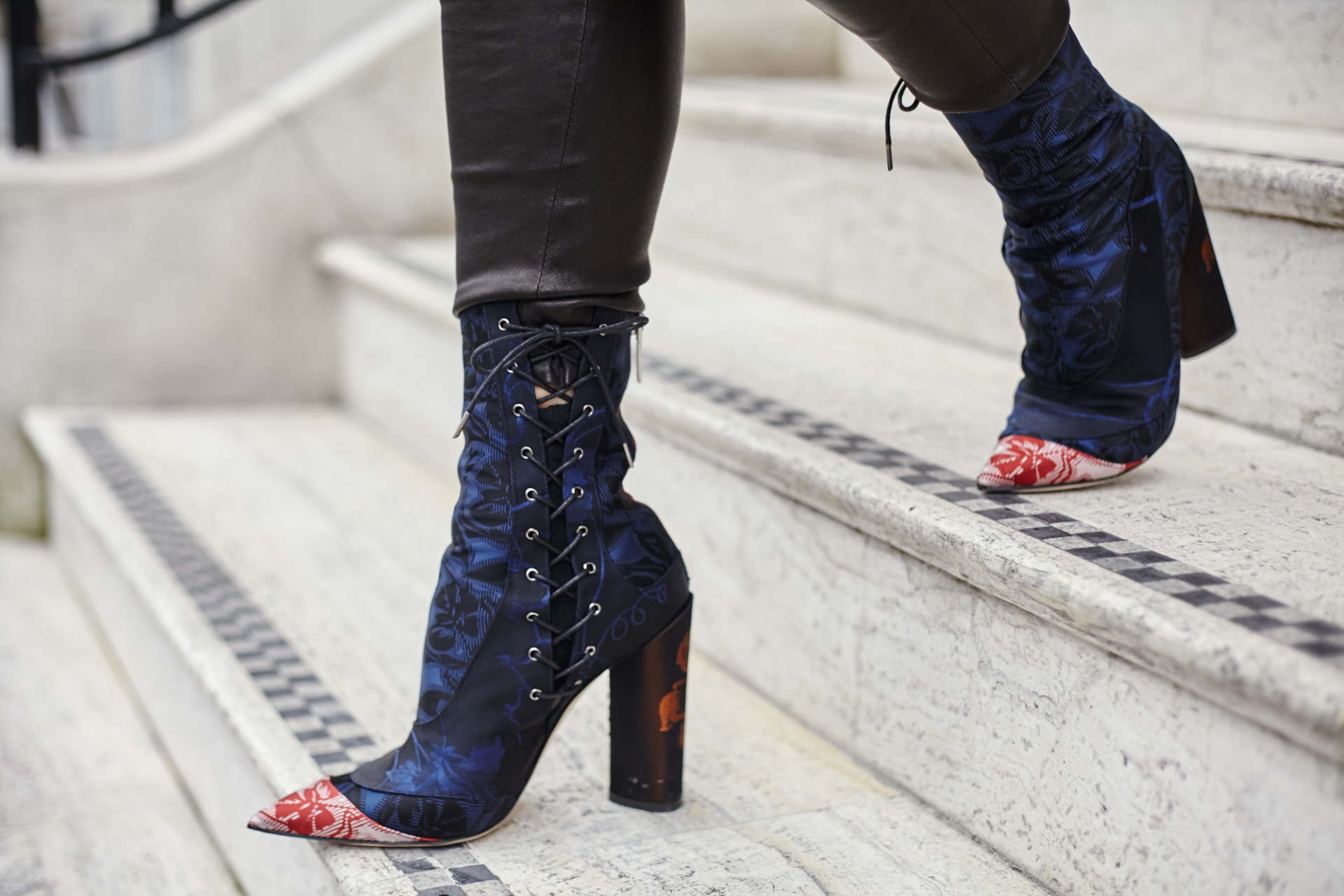 inthefrow london fashion week dior trianon boots