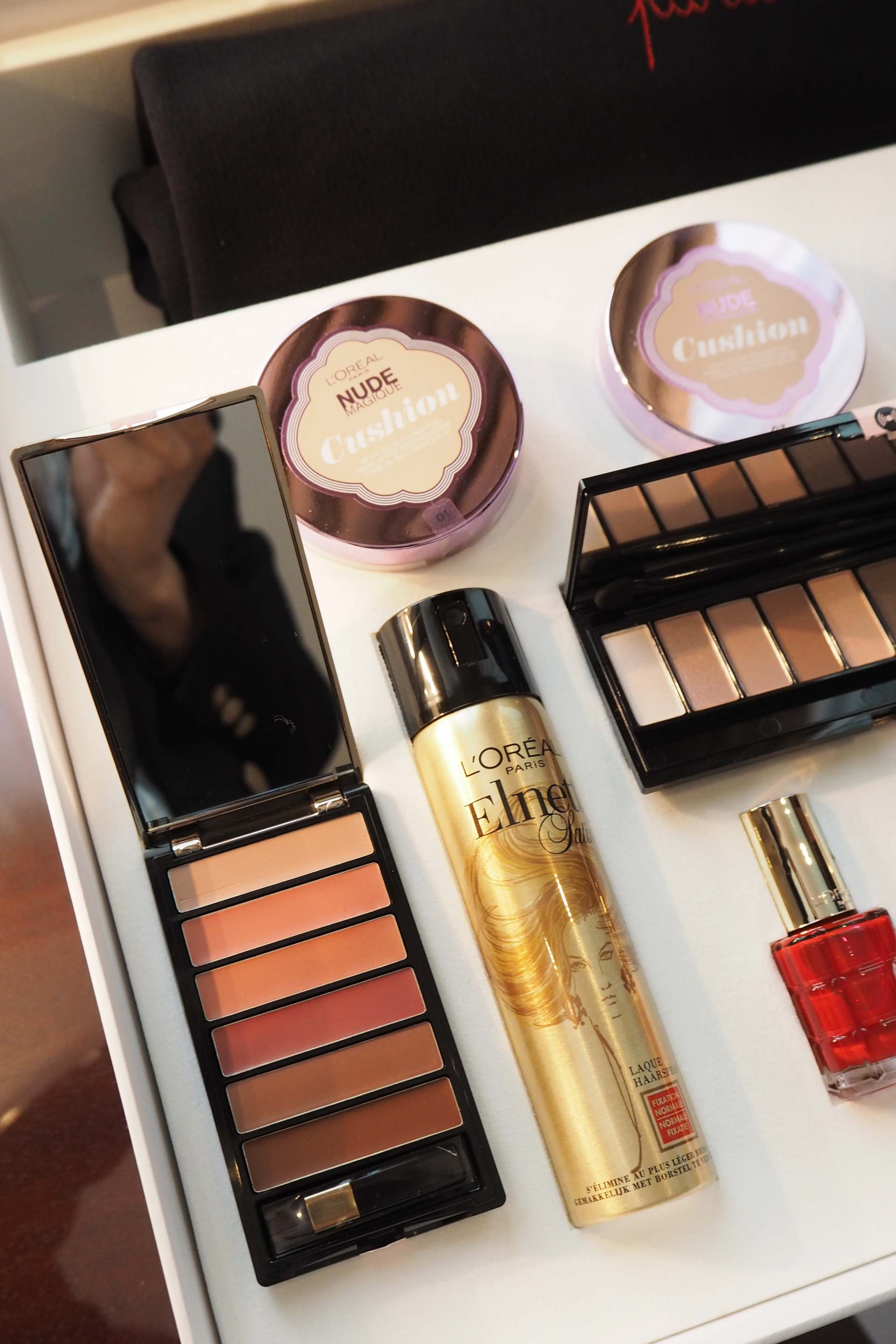 loreal new products, nude lip palette
