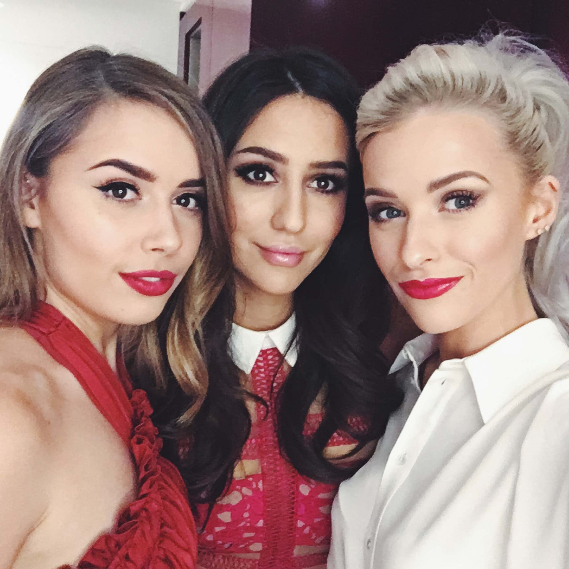 hellooctober, the glam and glitter and inthefrow for loreal red obsession party in paris