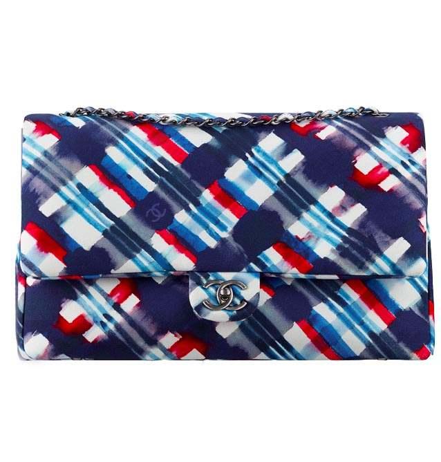 Chanel Large Flap Bag Canvas