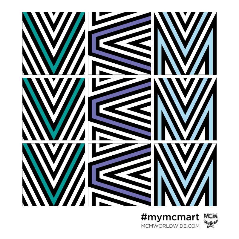 inthefrow VCM mcm print