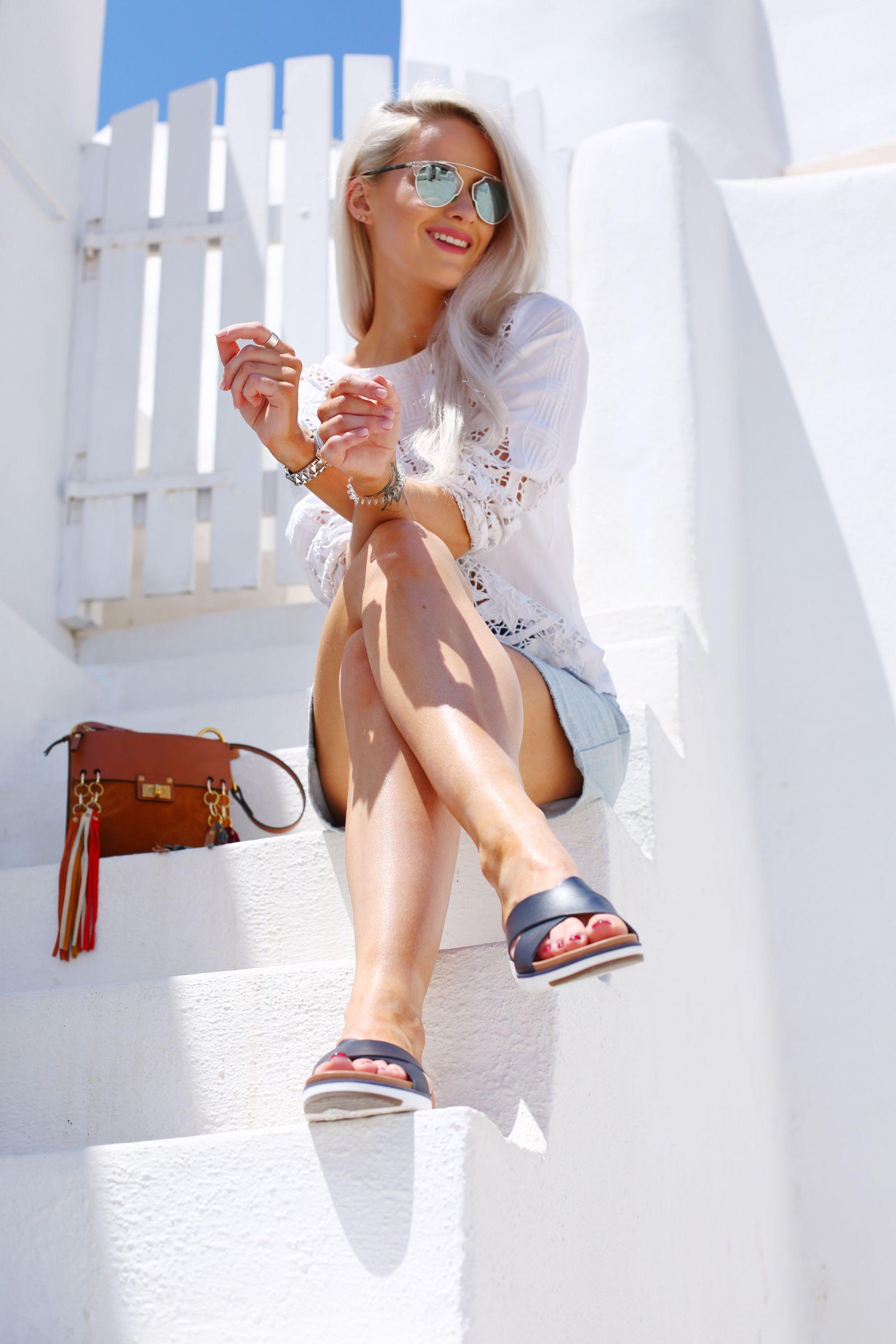 oia, santorini / inthefrow Ugg Sandals