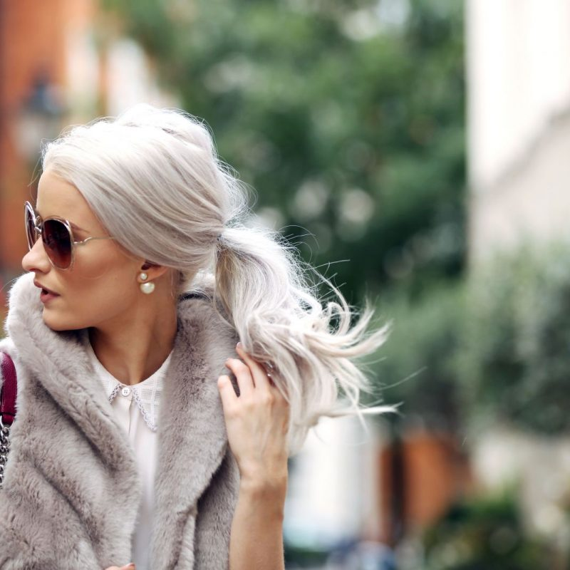 inthefrow at London Fashion Week Day 4 in Reiss and Dior