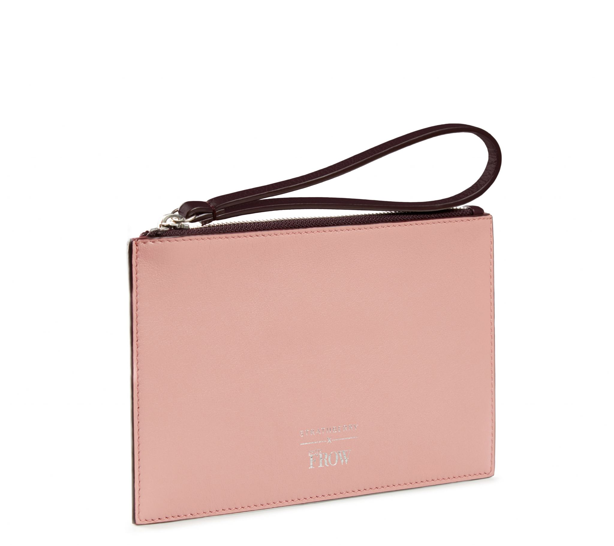 Strathberry x Inthefrow Mini Folio (Rose & Plum)