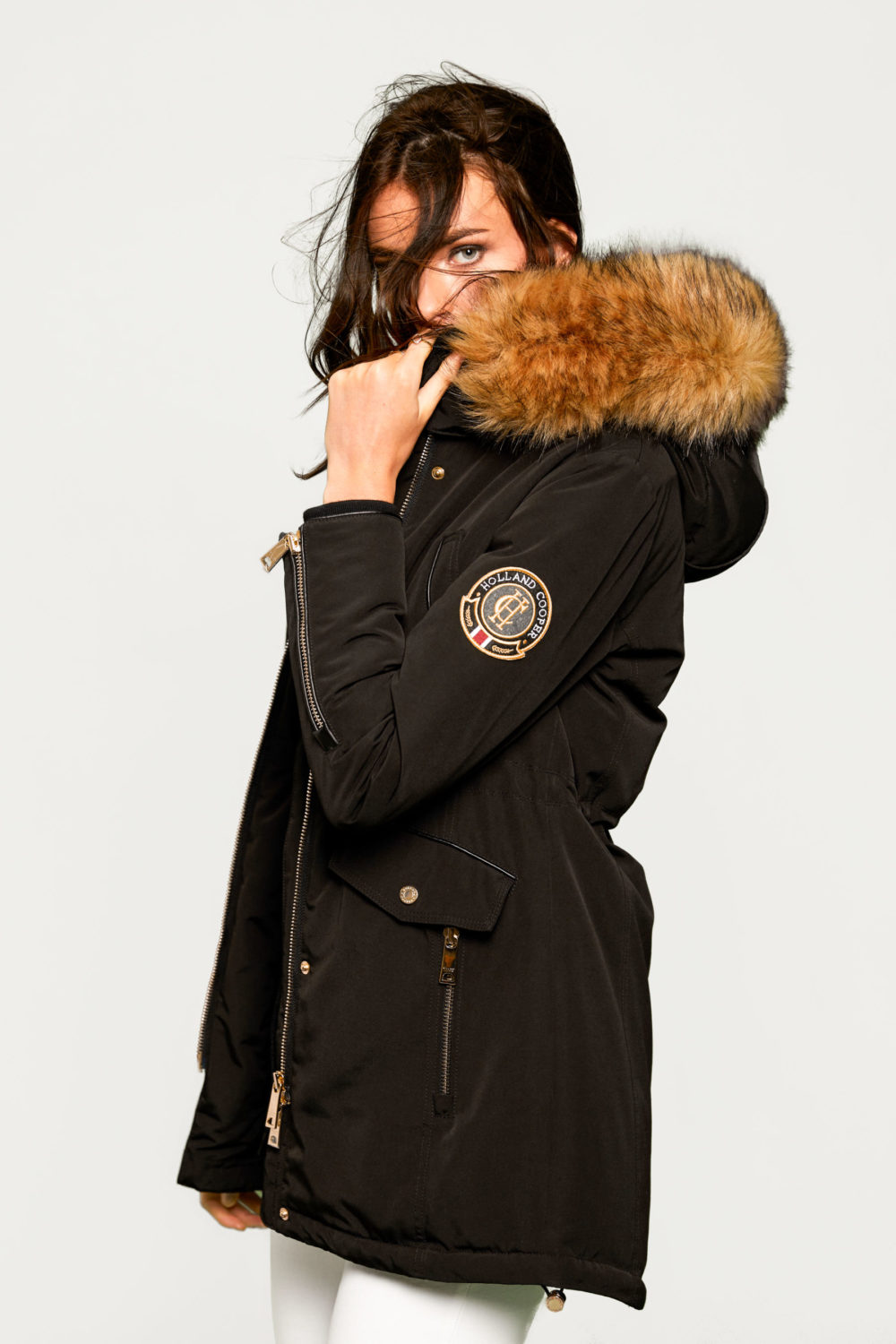 Mountaineer Black Parka