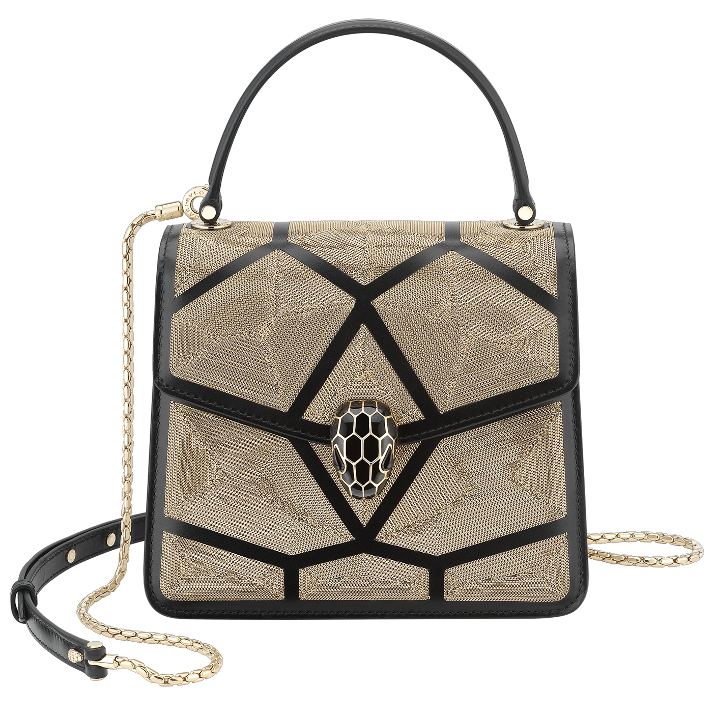 Serpenti Crossbody Bag (Black)