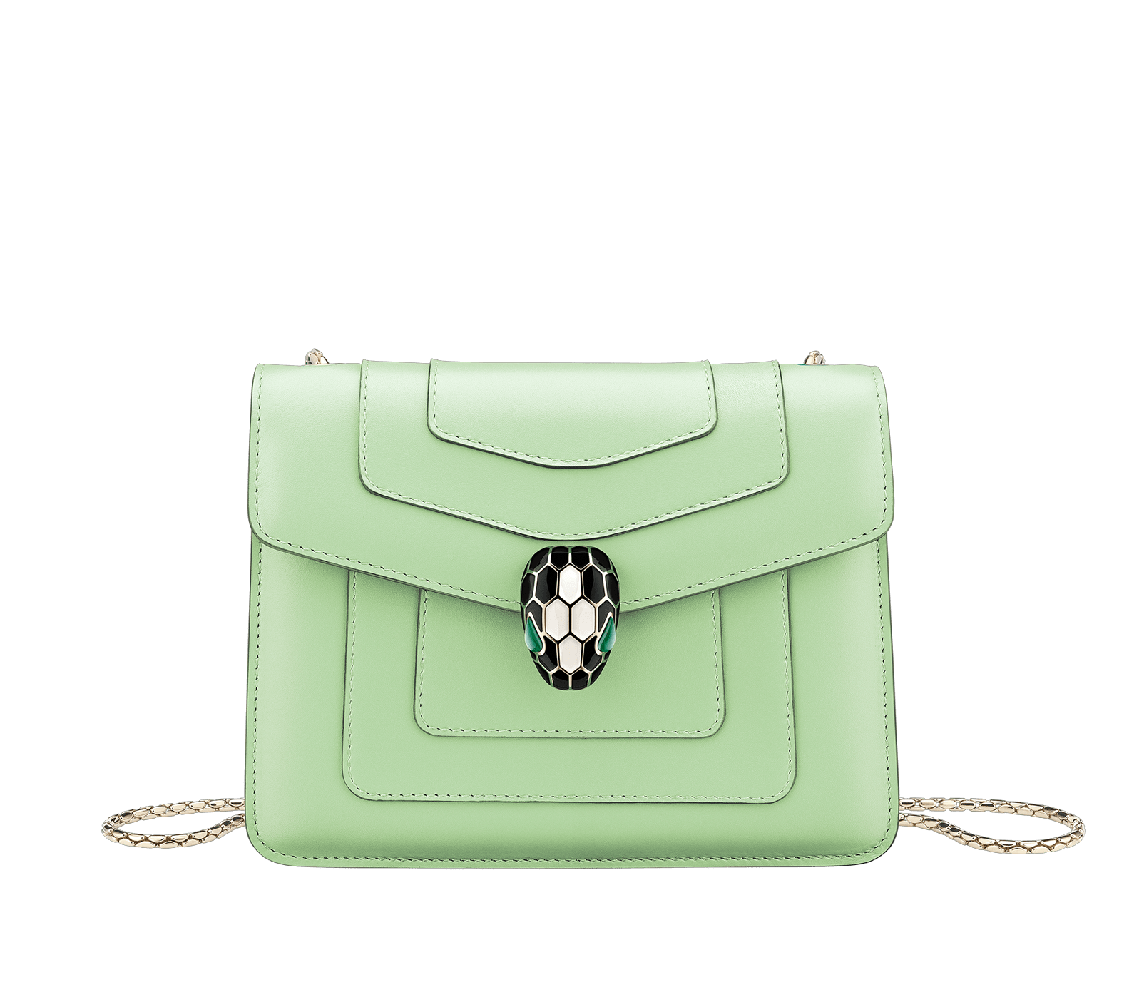 Serpenti Forever Crossbody Mint