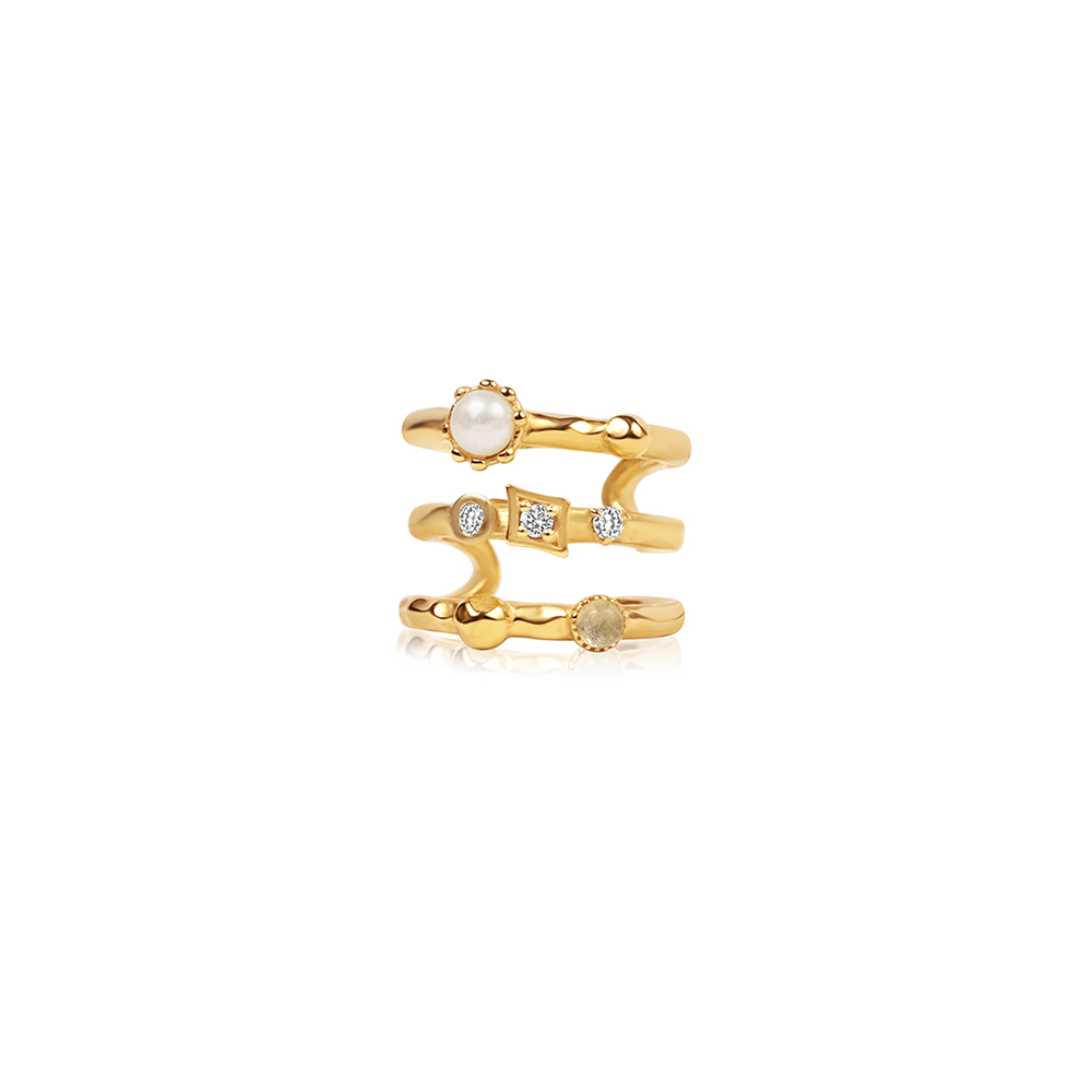 Orion Ear Cuff Gold