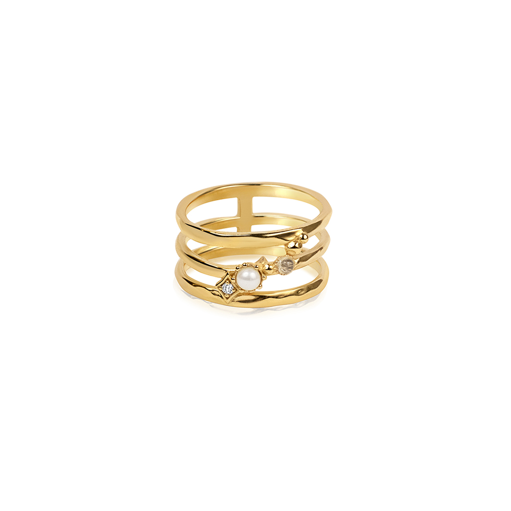 Nebula Ring Gold