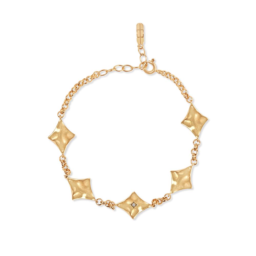 Supernova Bracelet Gold
