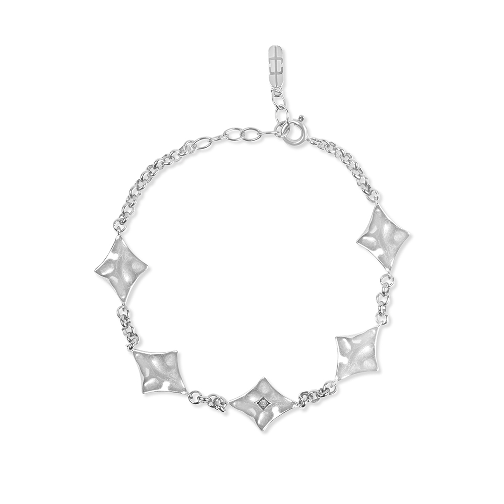 Supernova Bracelet Silver