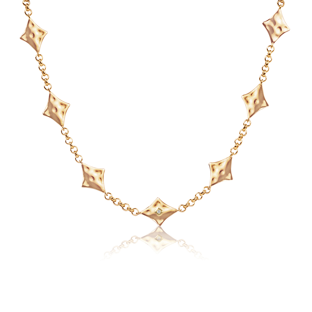 Supernova Choker Gold