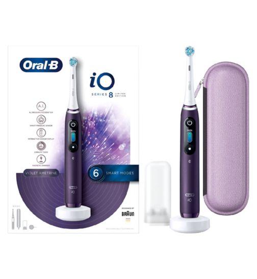 Oral-B iO – Violet w/ Travel Case