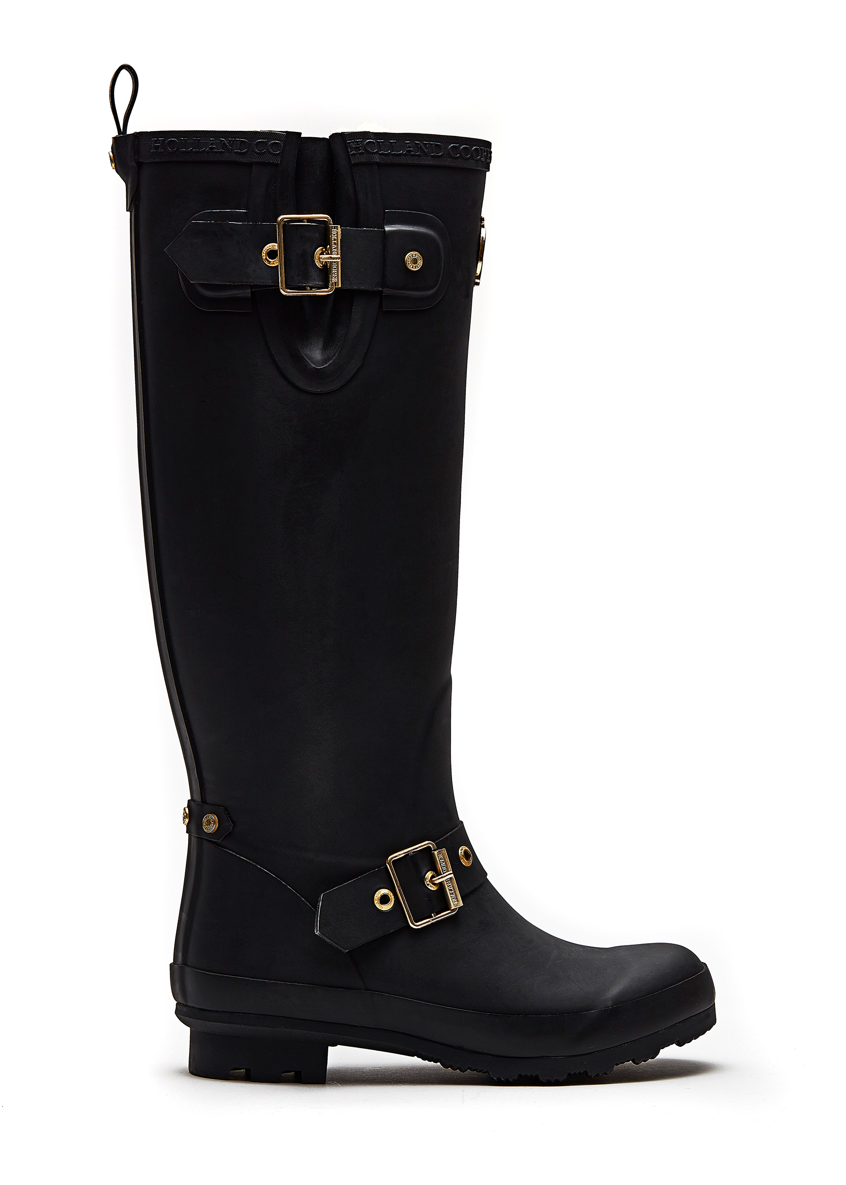 HC Wellies Matte Black
