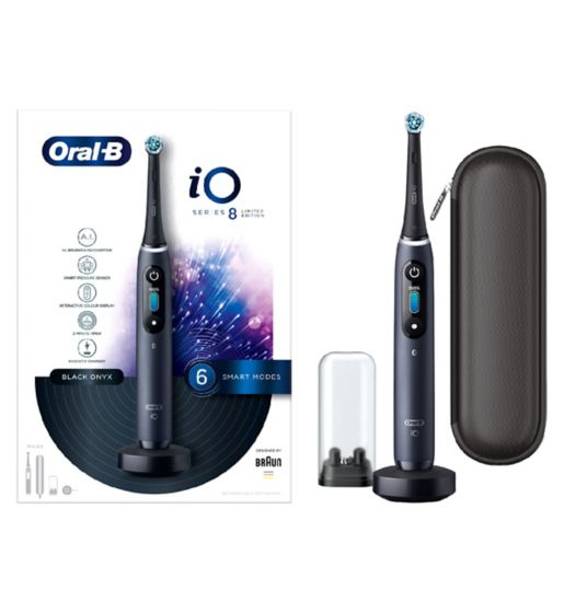 Oral-B iO – Black w/ Travel Case (60% off!)