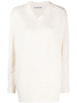 V Neck Oversized Knit (New Season)