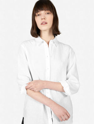 Relaxed White Shirt (Similar)