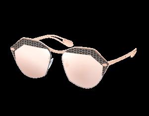 Bvlgari Serpenti Metal Sunglasses