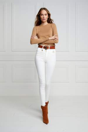 Super Stretch Jeans White