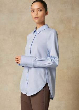 Chambray Shirt Blue