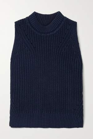 Ribbed Cotton Vest