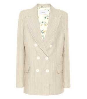 Tuxedo Style Linen Blazer